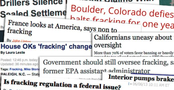Fracking News Climate One