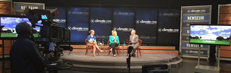 Climate One in DC